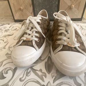 Coach Womens Empire Signature Sneakers